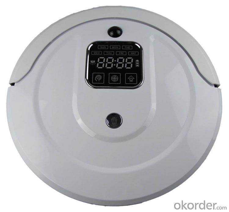 Robot Vacuum Cleaner with LED Indicator and Remote Control CNRB300