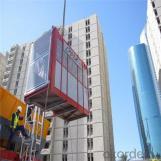 Building Hoist SC100 Machines Lifting Material