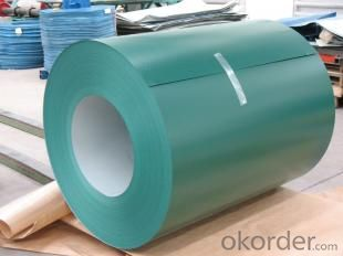 Pre-Painted Steel Coil  High Quality Green Color PPGI