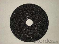 Black Silicon Carbide  Resinoid Grinding Wheel
