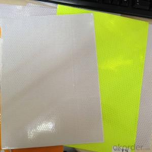 Reflective PVC Flex & Sticker with Honeycomb Reflective PVC Sticker