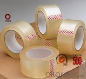 Adhesive Tape with Bopp Film Water Based Acrylic 2015 New Style China Manufacturer