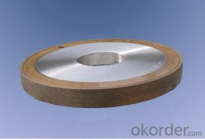 Brown Fused Alumina Cylindrical Grinding Wheel