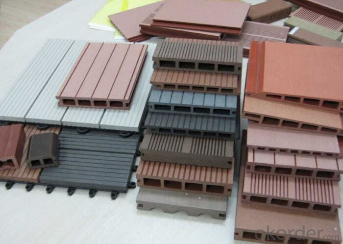 WPC SOS Certification Board Outdoor Decking