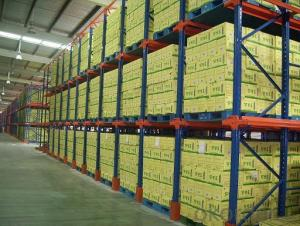 Drive in Pallet Rack System for Warehouse