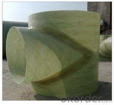 GRP FRP Equal Tees Sea Water Pipe Series DN 50-200