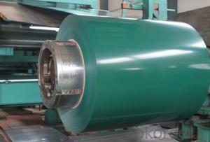 0.3mm Thickness PPGI Prepainted Galvanized Steel Coil With Different Width