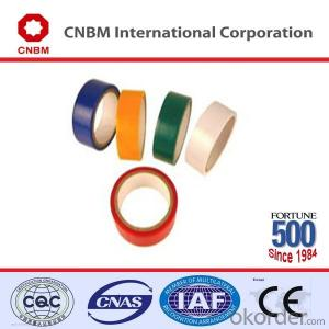 PVC Electrical Tape Natural Rubber PVC Tape for Marking of Electric Wires