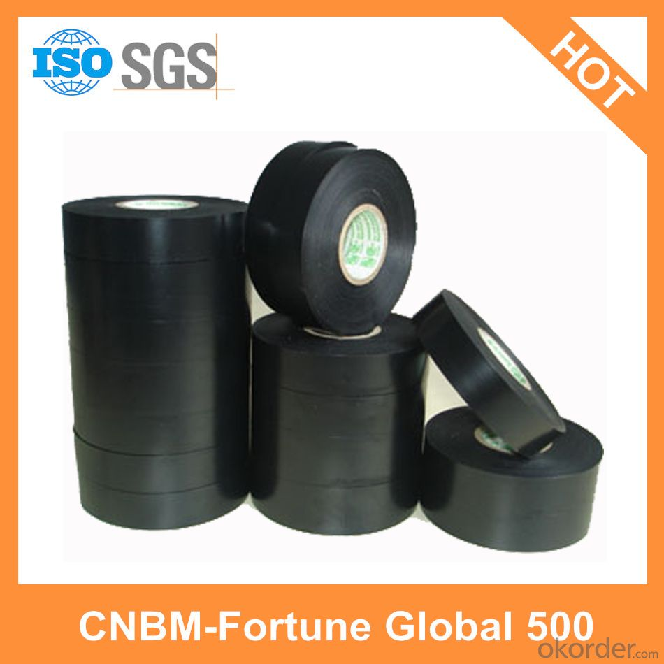 Black PVC Electrical Tape Custom Made for Wires Wrapping