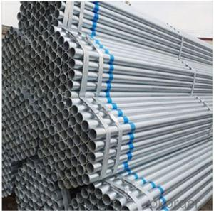 Galvanized Scaffolding Tube 48.3*4.0 Q235B Steel Standard EN39/BS1139 for Sale CNBM