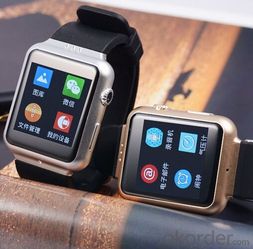 3G & WIFI Wireless Android Operate System 4.4 Smart Watch in 2.0M Camera Smart Phone Watch