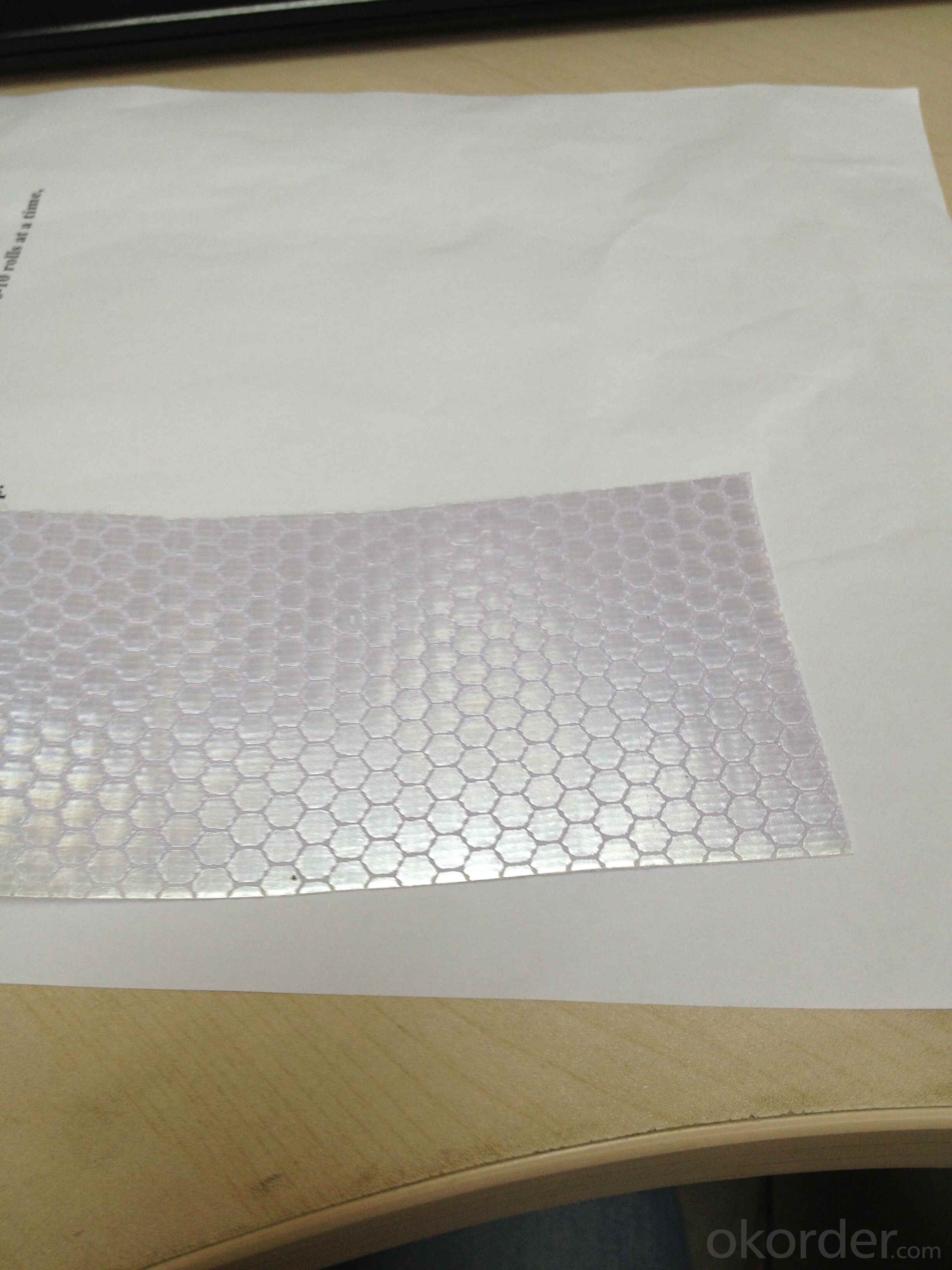 PVC Honeycomb Reflective Vinyl Roll Honeycomb Solvent Printing Reflective Flex Banner