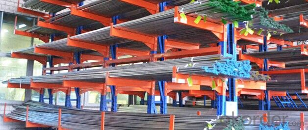 Cantilever Type Pallet Rack System for Warehouse
