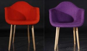Fabric Eames Chair, Simple Design with Leisure Elements
