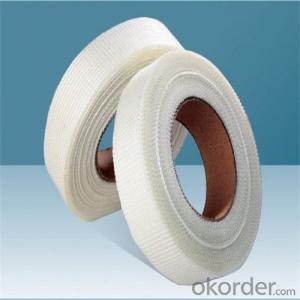 Fiberglass Mesh Adhesive Tape 55g/m2 8*8/inch High Strength