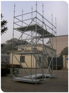 Hot Dipped Galvanized Ringlock Scaffold/Scaffolding CNBM
