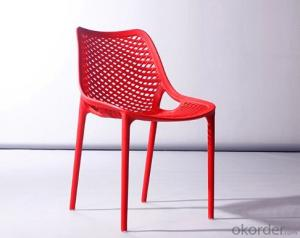 Engineering Plastic Chair,Hollow Design and Multiple Use