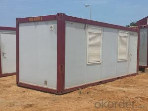 Container Houses for Public Toliets of 20ft Size Exported to Africa