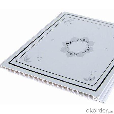 PVC Ceiling Panel Lamination Groove Ceiling Tiles