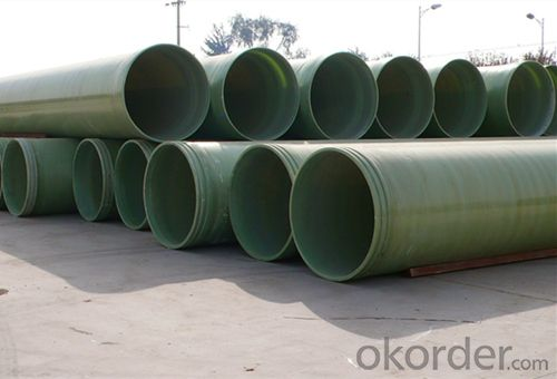 FRP Process Pipe/High Pressure FRP Pipe Round Tubes