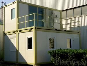 Modular Container Houses for Prefabricated Buildings 6m x 2.45m x 2.7m