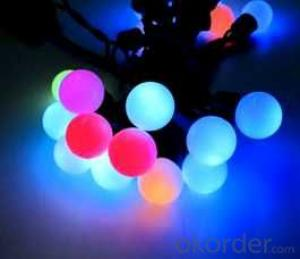 Ball LED String Lights for holiday with anything