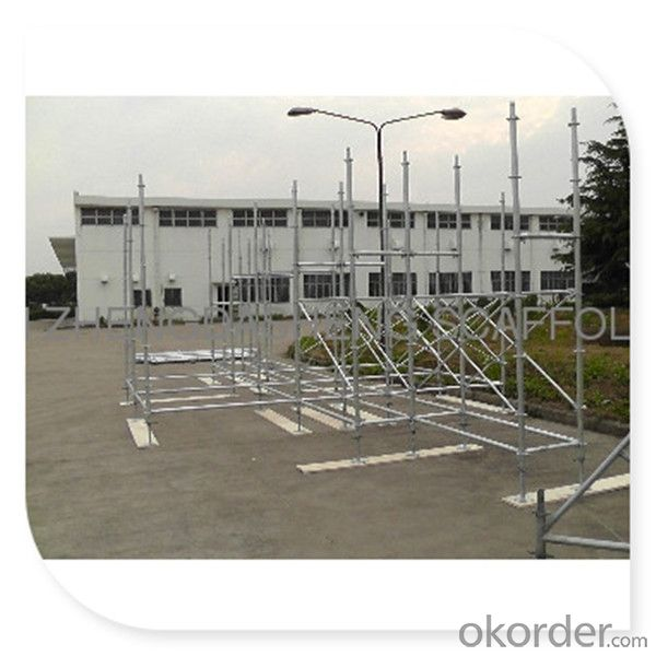 Construction Platform Andaime Roseta (South Amercia) with En12810 Standard CNBM