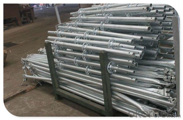 Construction HDG Steel Ringlock Scaffolding System with En12810 Standard CNBM
