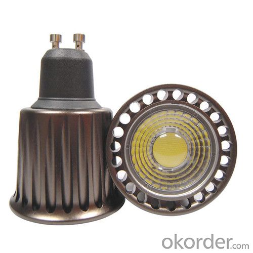 LED Spotlight Dimmable COB GU10 12W RA>90 120 Degree Beam Angle 85-265v  1000 lumen