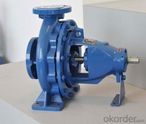 DIN Standard Centrifugal End Suction Water Pump