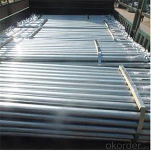 Push-pull Steel Prop 2.5M-4.5M Q235 Steel Prop Standard EN1065 CNBM