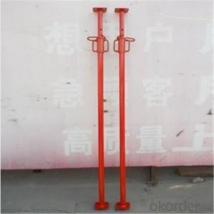 Painted Spanish Steel Prop Q235 Steel Prop Standard EN1065 CNBM