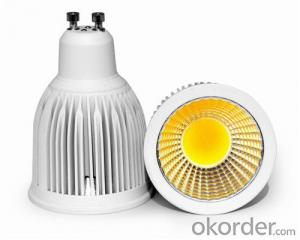 LED Spotlight Ceiling COB GU10 90 Degree Beam Angle Waterproof  with CE