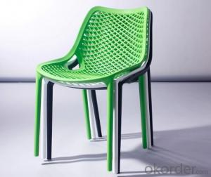 Plastic Chair,Hollow Design, Outdoor and Indoor Use