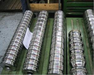 Tungsten Carbide Roll Ring for High Speed Wire Mill Plant CMAX Brand