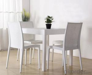 Outdoor Plastic Chair,Rattern Design and Hot Sale