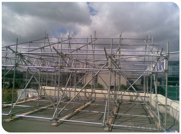 Ringlock Scaffolding for  Construction with  SGS AS/NZS1576.3 Qualified CNBM