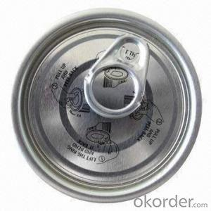 Easy Open End Tuna Can 307#, Aluminum/Tinplate