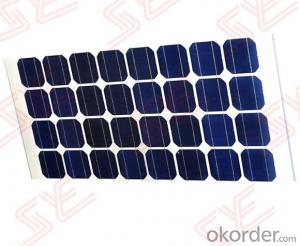Double Glass Mono(Poly) Crystalline silicon Solar Panel Model CR090M-B