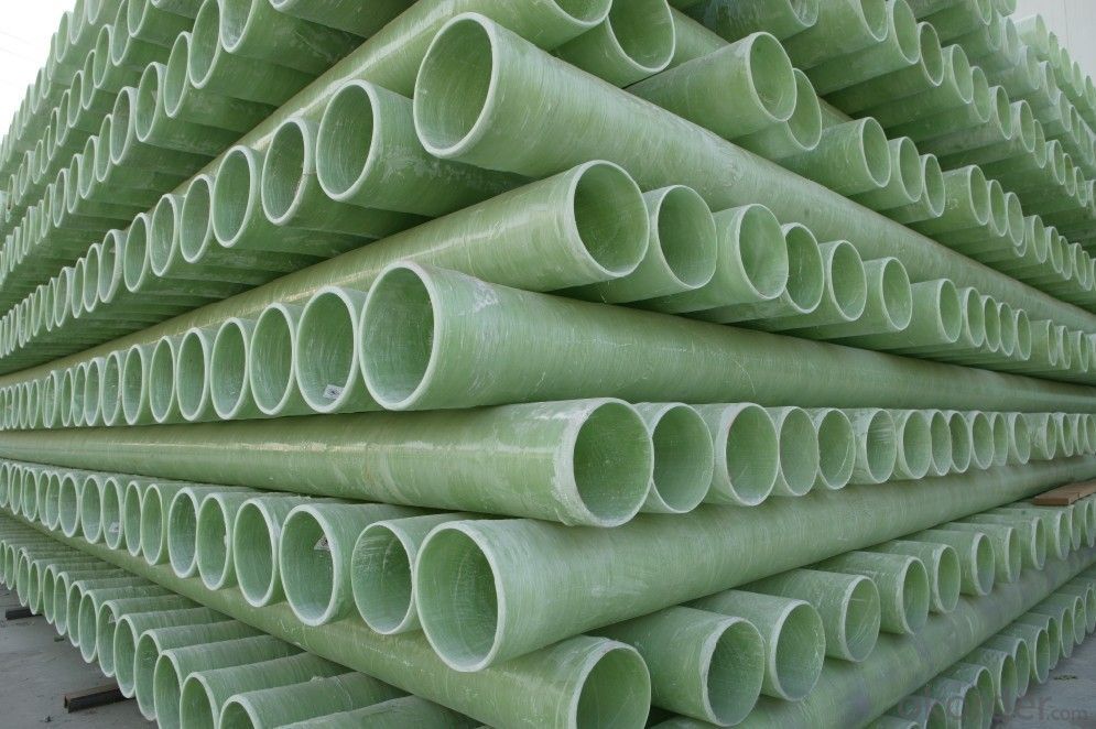 Buy frp pipe fiberglass reinforced plastic with water