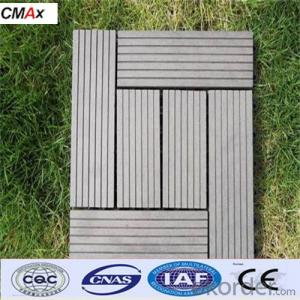 Waterproof Outdoor Deck Flooring with SGS and CE from China