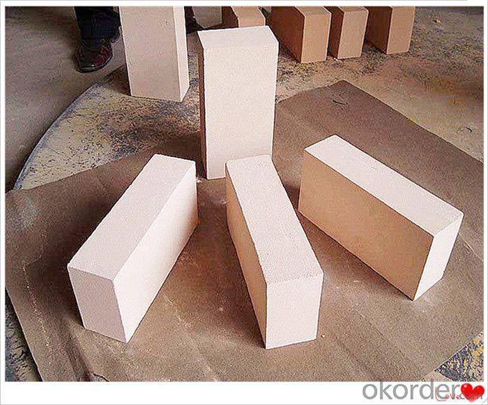 Corundum Insulating Fire Bricks High Bulk Density for Hot Surface Lining Furnance