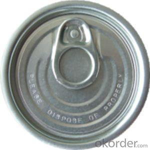 FULL OPENER END 401 TIN CAN, TINPLATE/ALLUMNIUM