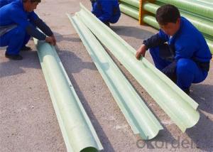 FRP Split Pipe/Fiberglass Reinforced Pultruded Pipe