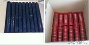 Silicone  Air  Hose High Pressure  Fibre Braided Brown