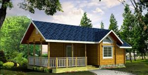 Prefabricated Wooden House with New Design