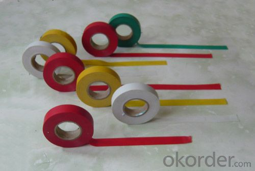 PVC Electrical Insulation Tape Smooth Safety Barricade