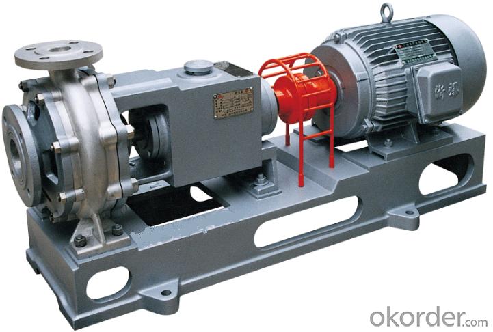 IJ Series Chemical Process Pump(ISO2858, API682)
