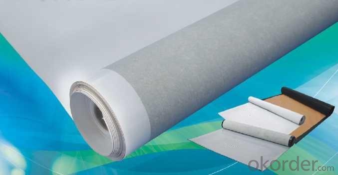 PVC Waterproofing Membrane Polyester Scrim Reinforced