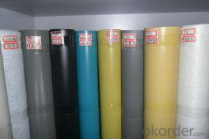 PVC High Polymer Waterproofing Membrane Polyester Nonwoven Reinforced